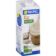 Bjorg dessert nature de riz bio 1l