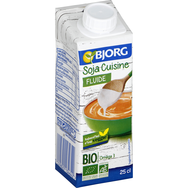 Bjorg soja cuisine bio fluide 25cl