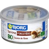Bjorg bio terrine végétale forestière 125g