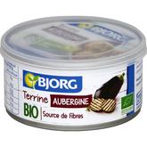 Bjorg terrine végétale aux aubergines bio 125g