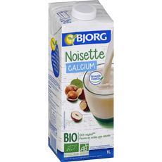 Bjorg boisson délice noisette calcium bio 1l