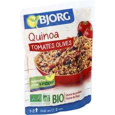 Bjorg quinoa tomate olive bio 250g