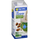 Bjorg Bjorg lait d'amande bio sans sucre 1l
