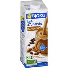Bjorg lait d'amande cappuccino bio 1l