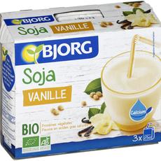 Bjorg mini soja vanille bio 3x25cl