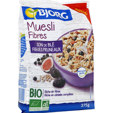 Bjorg bio muesli fibres son de blé 375g