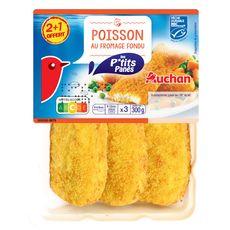 Auchan p'tit pané au fromage 2x100g +1offert 300g