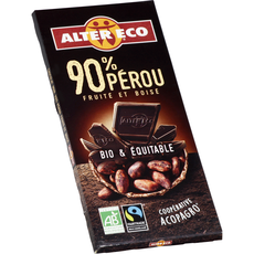 Alter Eco bio chocolat noir 90% 100g