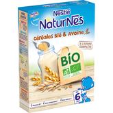 Nestlé bio p'tite céréale blé et avoine 240g dès 6mois