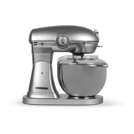 SCHNEIDER Robot pâtissier Vintage SCFP57S  - Silver