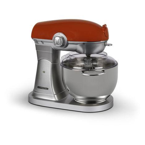 SCHNEIDER Robot pâtissier Vintage SCFP57R  - Rouge/silver