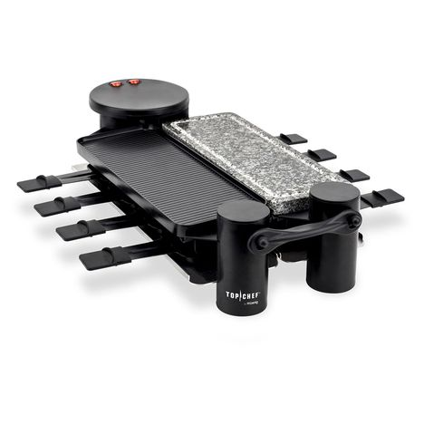 TOP CHEF Raclette multifonction Top Chef by H. Koenig TOPC926, 8 personnes