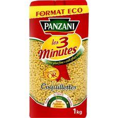 PANZANI Coquillettes cuisson rapide 3min 1kg