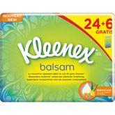 Kleenex mouchoirs balsam étui classique x24 +6 gts