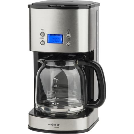 TOP CHEF Cafetière programmable Top Chef by H. Koenig TOPC558  - Inox