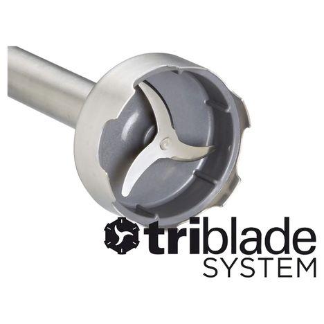 Mixeur plongeant Triblade HDP405WH Blancgris KENWOOD pas