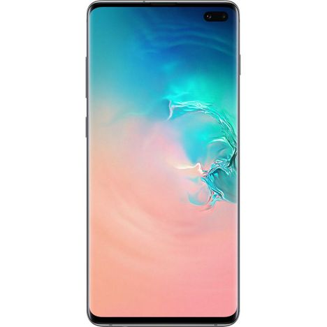 SAMSUNG Smartphone Galaxy S10+ - 128 Go - 6.4 pouces - Blanc - 4G