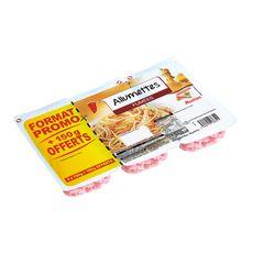 AUCHAN Auchan Allumettes fumées 2x150g +150g offert