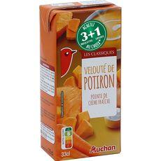 Auchan velouté de potiron 33cl