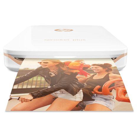 HP Imprimante photo portable - HP Sprocket Plus - Blanc