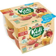 Kidifruit cup pomme fraise banane 8x85g