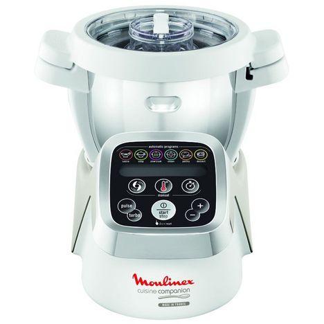 MOULINEX Robot cuiseur HF800A13 Companion  - Blanc