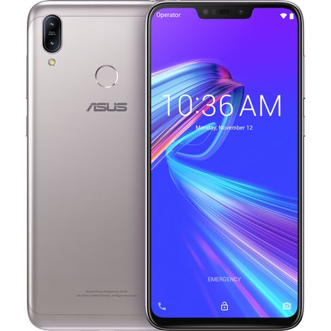 ASUS Smartphone - Zenfone Max M2 - 32 Go - 6.3 pouces - Silver - 4G