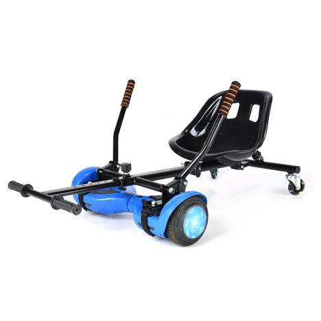 MOOVWAY Kart 4 roues - Drift 1 - 2 roues arrières 7.5 pouces - Noir