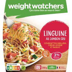 Weight Watchers linguine jambon cru courgette 290g