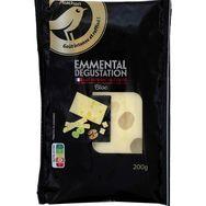 Gourmet AUCHAN GOURMET Emmental de dégustation 200g