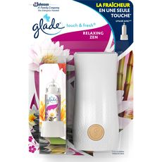 GLADE Touch & Fresh diffuseur automatique relaxing zen 10ml