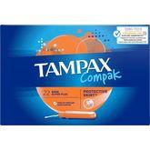 Tampax tampons compak super plus x22