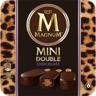 Magnum batonnet glace double chocolat x6 300g
