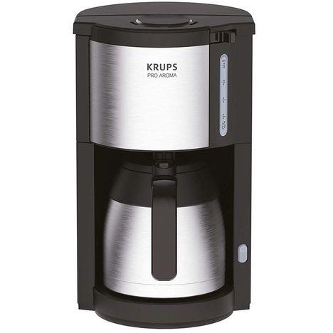 KRUPS Cafetière isotherme Pro Aroma KM305D10 - Noir/Inox