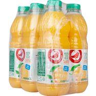 Auchan pur jus orange sans pulpe 6x1l