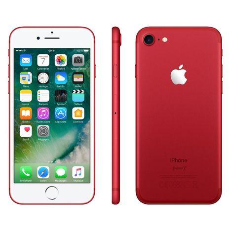 APPLE Apple iPhone 7 - Reconditionné - Grade B - 128 Go - Rouge - LAGOONA