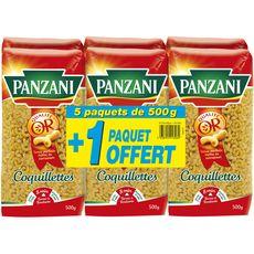 PANZANI Coquillettes 5x500g +1offert 3kg