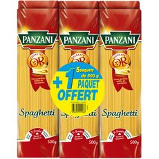 Panzani Spaghetti 5x500g +1offert