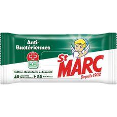 St Marc lingette antibactérienne x40