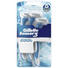 Gillette rasoir jetable sensor 3 cool x3