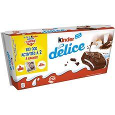 Kinder délice cacao x10 -390g
