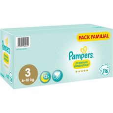 Pampers Premium méga pack couches taille 3 (6-10kg) x116