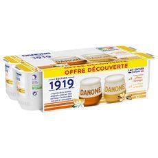 DANONE Danone yaourt au lait entier panaché 8x125g
