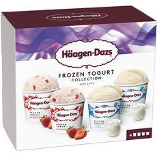 HAAGEN DAZS Häagen-Dazs Mini pot frozen yogurt 324g 4 mini pots 324g