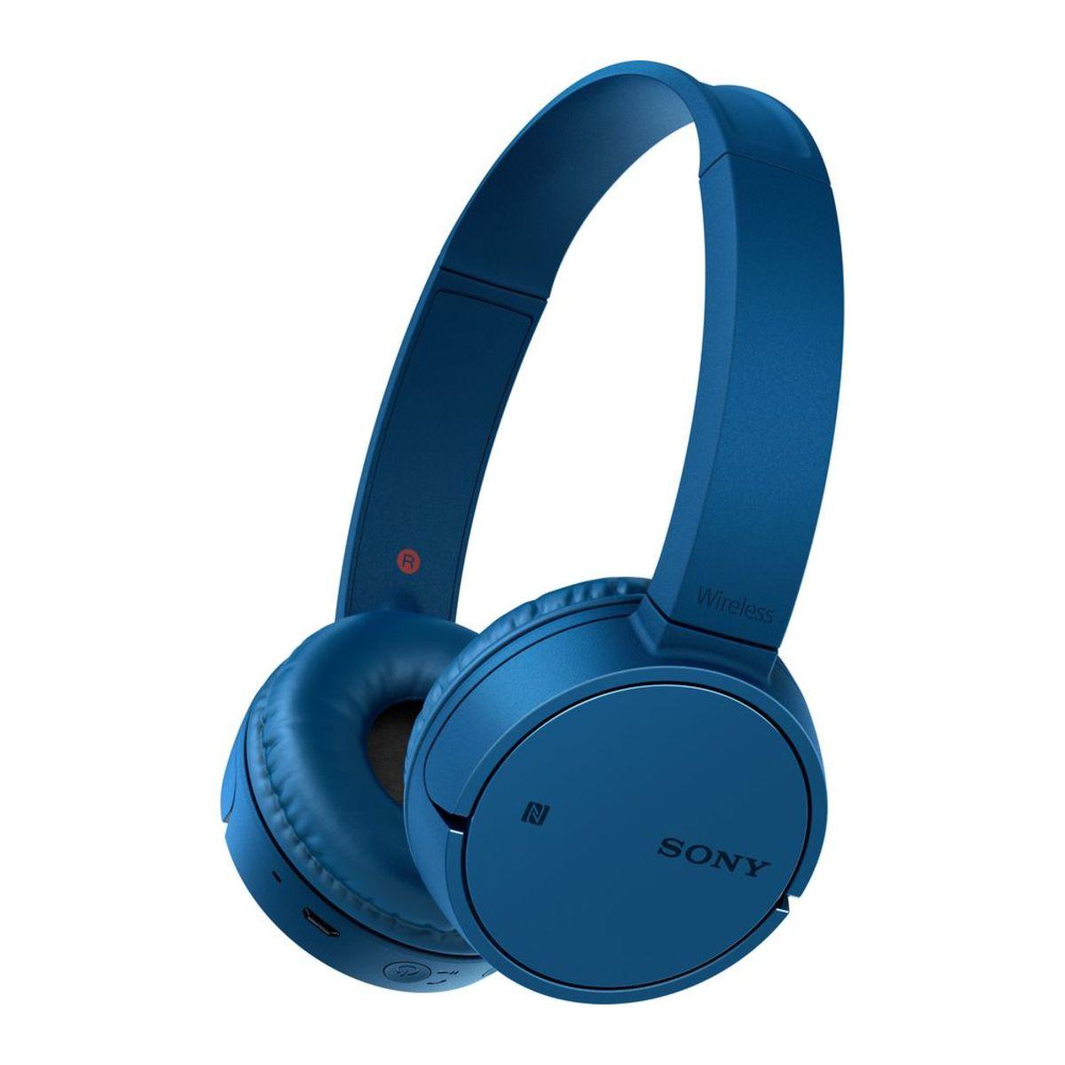 SONY WH CH500 - Casque audio - Bleu