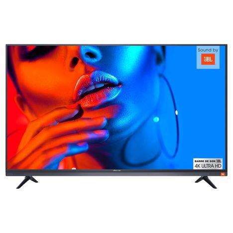POLAROID Noise TBS494KP Série 8200 TV LED 4K Ultra HD 124 cm - Barre de son JBL intégrée