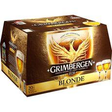 Grimbergen bière blonde 6,7° -20x25cl