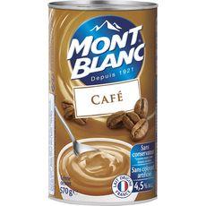 Mont Blanc crème dessert café 570g