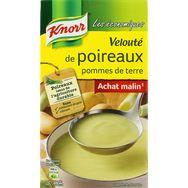 Knorr velouté de poireaux  pomme de terre 1l