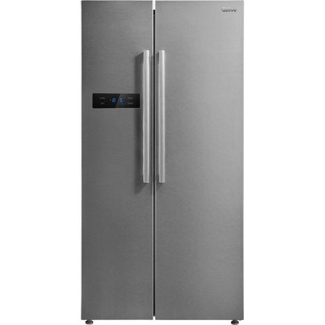 QILIVE Réfrigérateur américain Q.6522 134912, 510 L, Froid ventilé